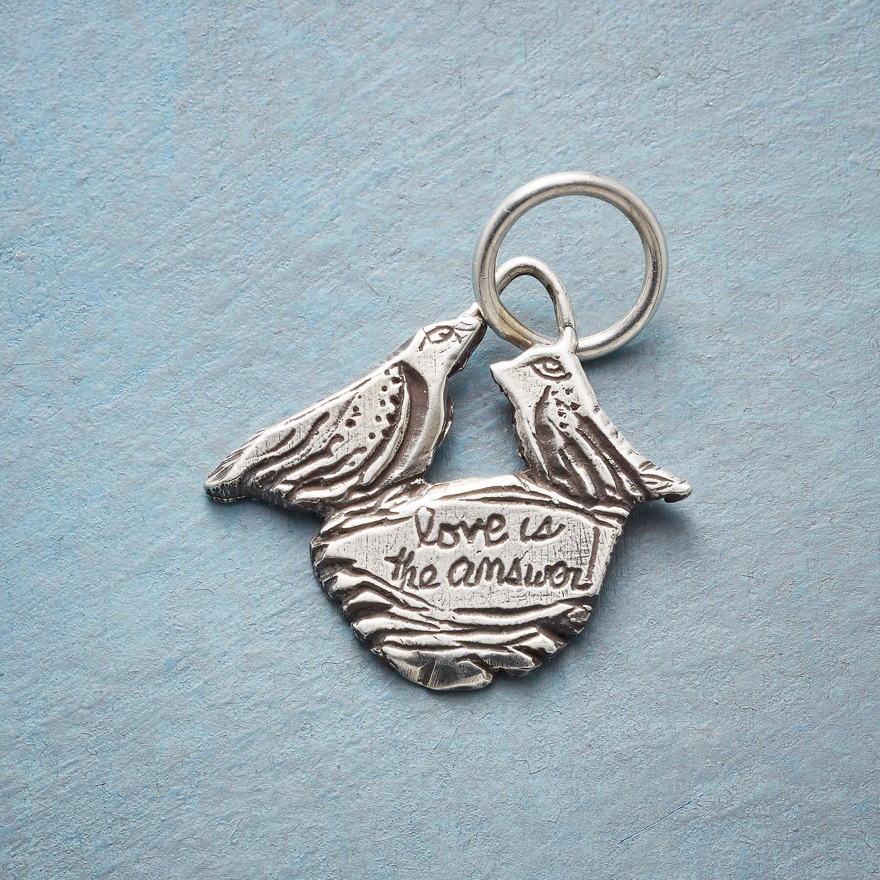 SILVER LOVE NEST CHARM: View 2