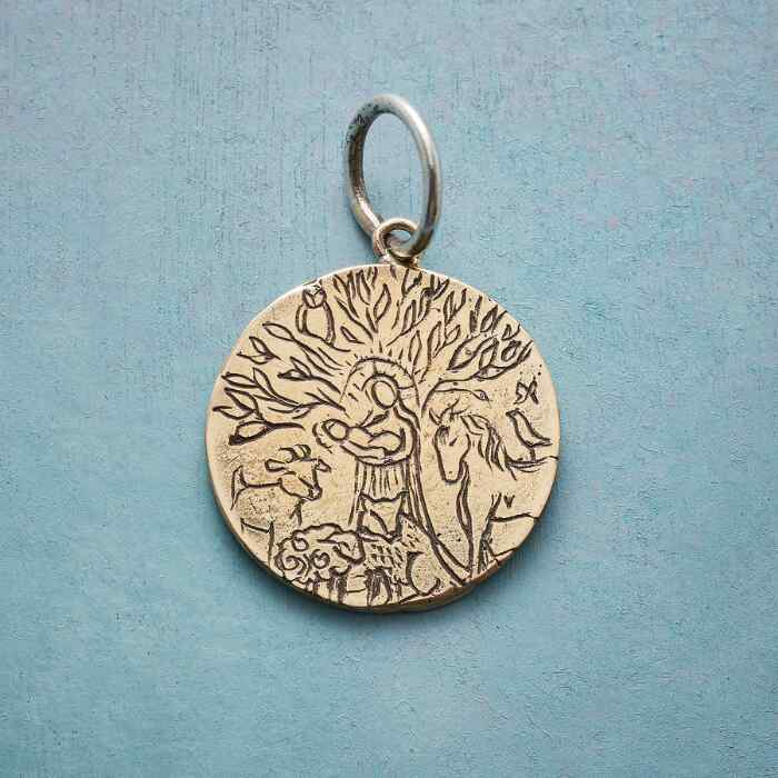 GOLD LIFEGIVING TREE CHARM