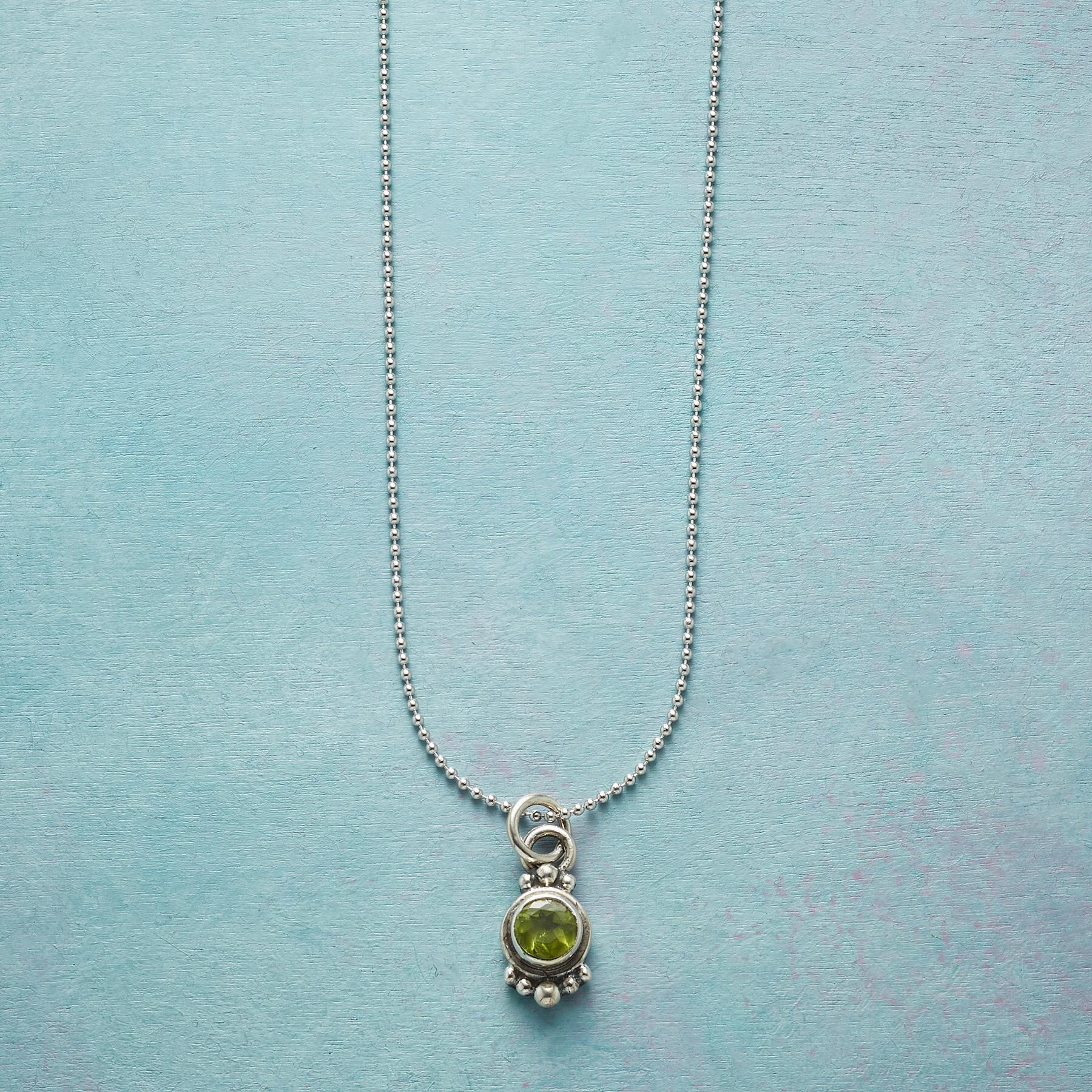 ART OF LOVE BIRTHSTONE NECKLACE: View 1