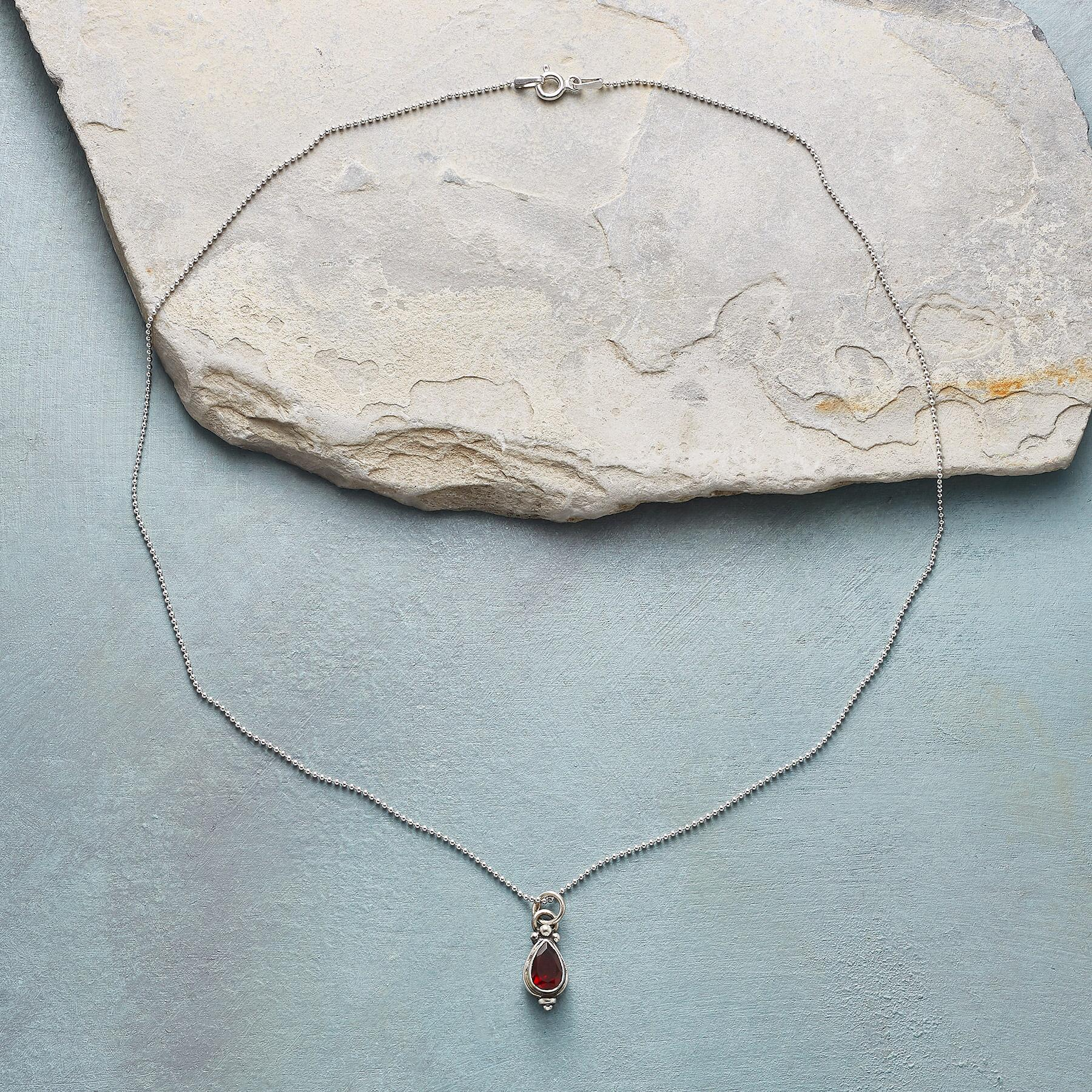 ART OF LOVE BIRTHSTONE NECKLACE: View 2