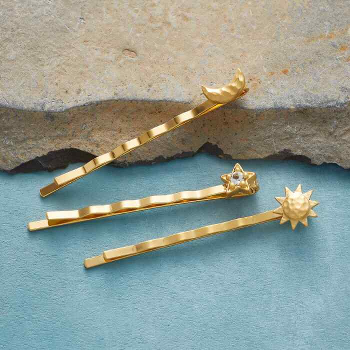 COSMOS HAIRPINS, SET OF 3