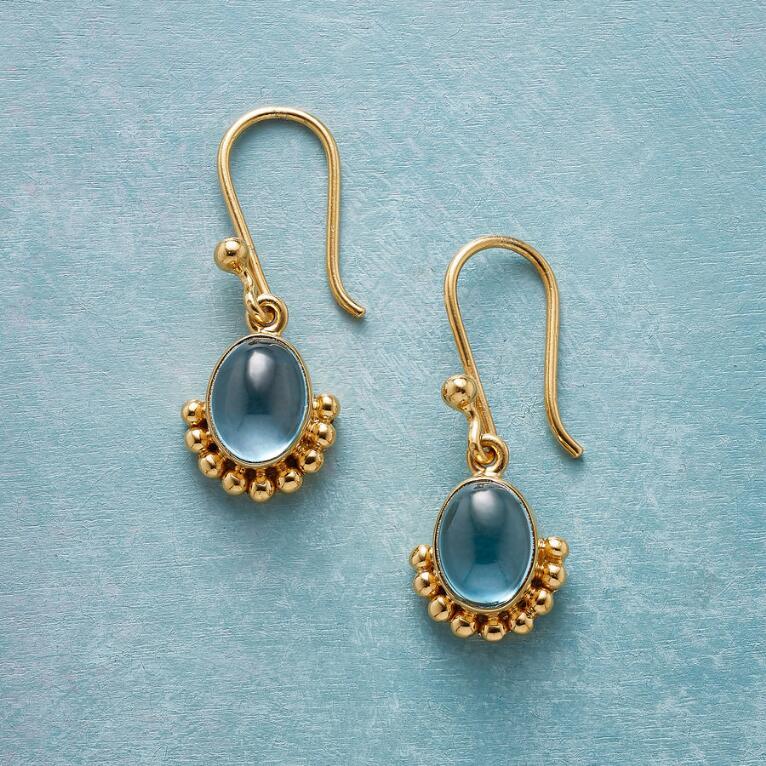 BLUE WINK EARRINGS