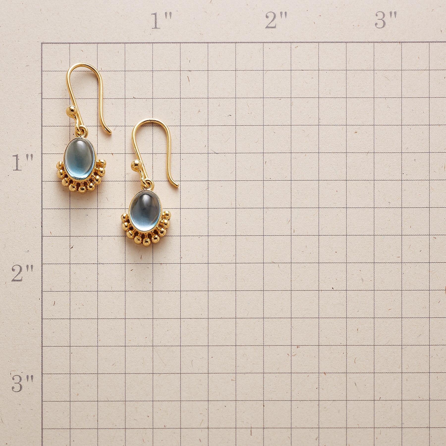 BLUE WINK EARRINGS: View 2