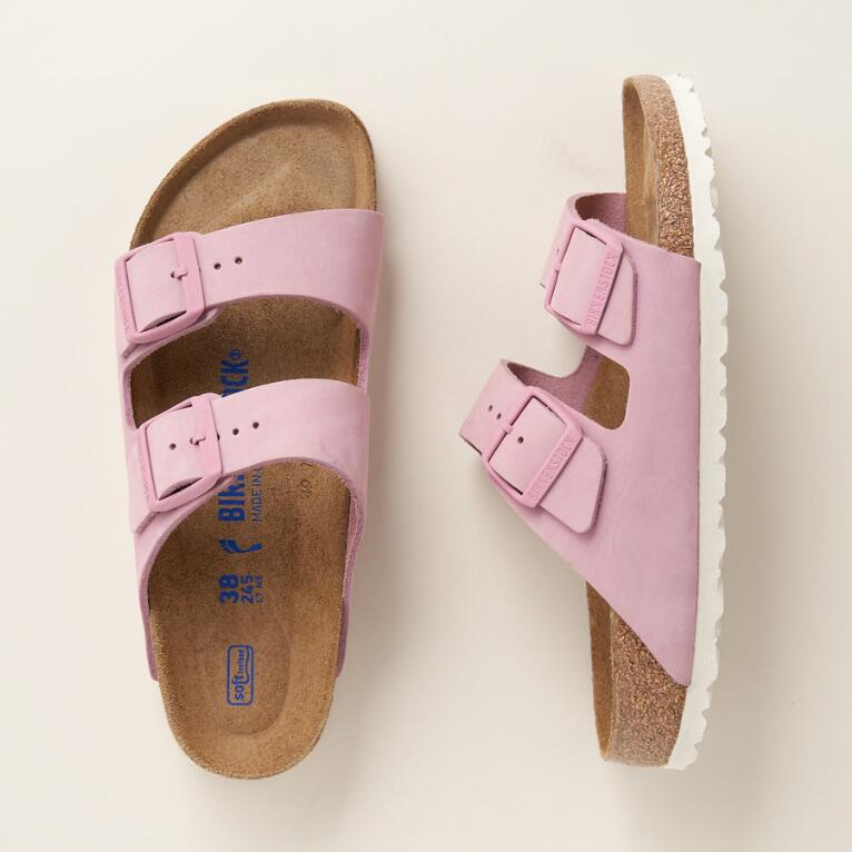 SOFT FOOTBED ARIZONA SANDALS