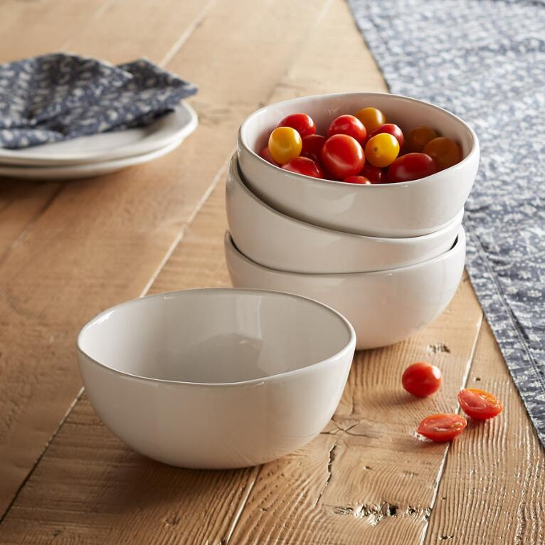ALEX MARSHALL HANDCRAFTED BOWLS, SET OF 4