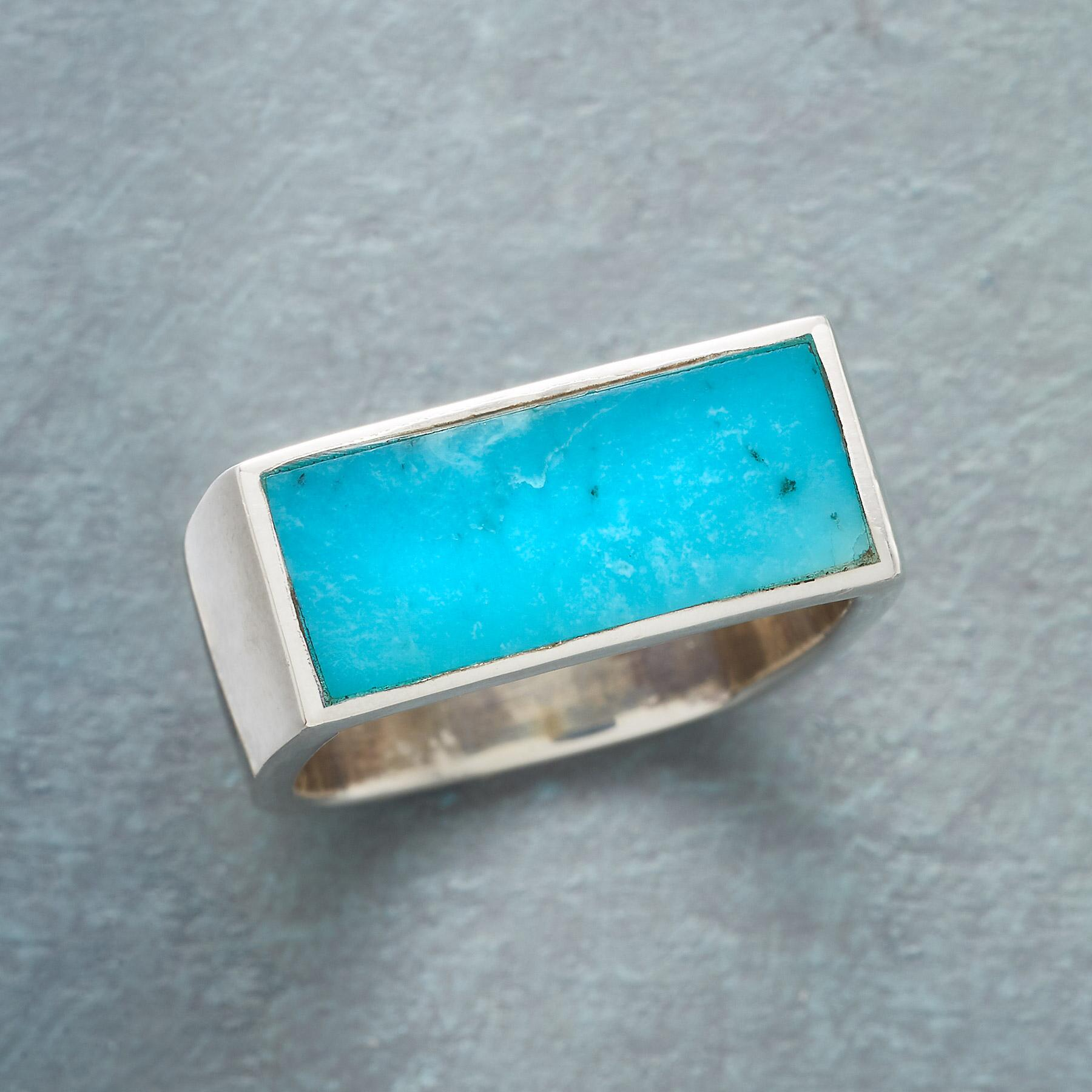 PLATEAU OF TURQUOISE RING: View 1