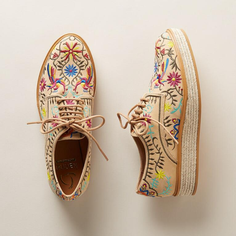 CORDOVA EMBROIDERED SHOES