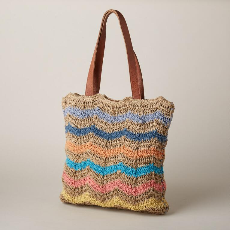 END OF THE RAINBOW TOTE