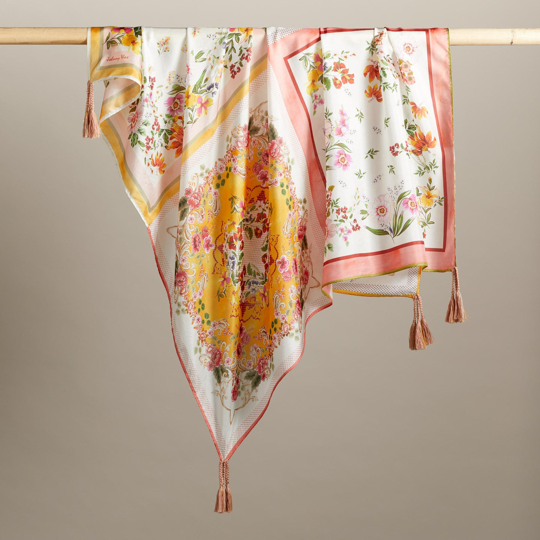 WILDFLOWERS IN LOVE SCARF: View 2