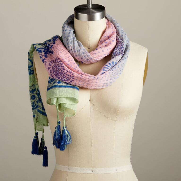 RIVER'S LULLABY SCARF
