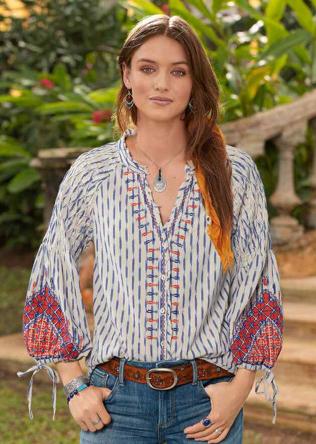 ZHANNA SUNSET TOP