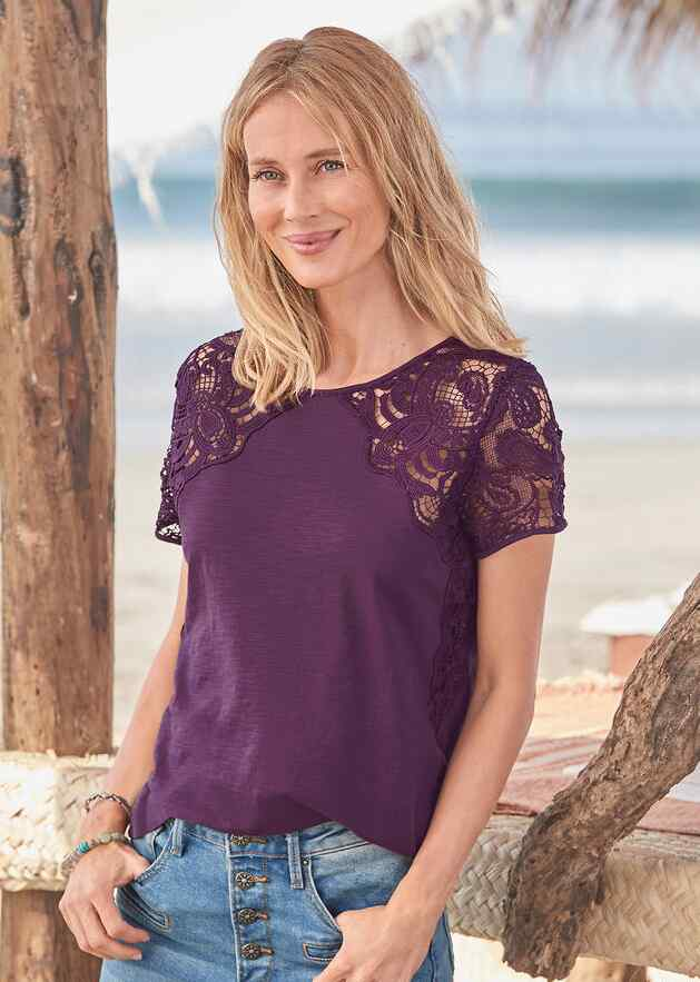 MAEVE LACE TOP