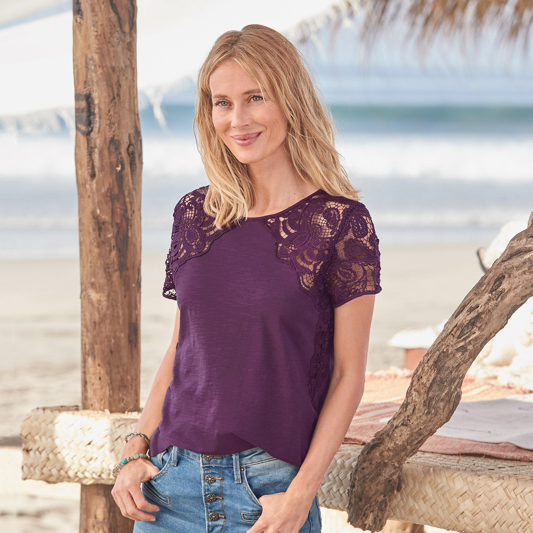 MAEVE LACE TOP: View 1