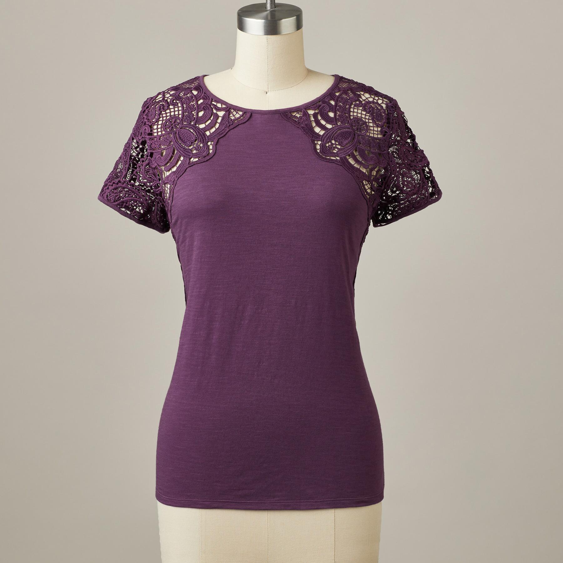 MAEVE LACE TOP: View 2