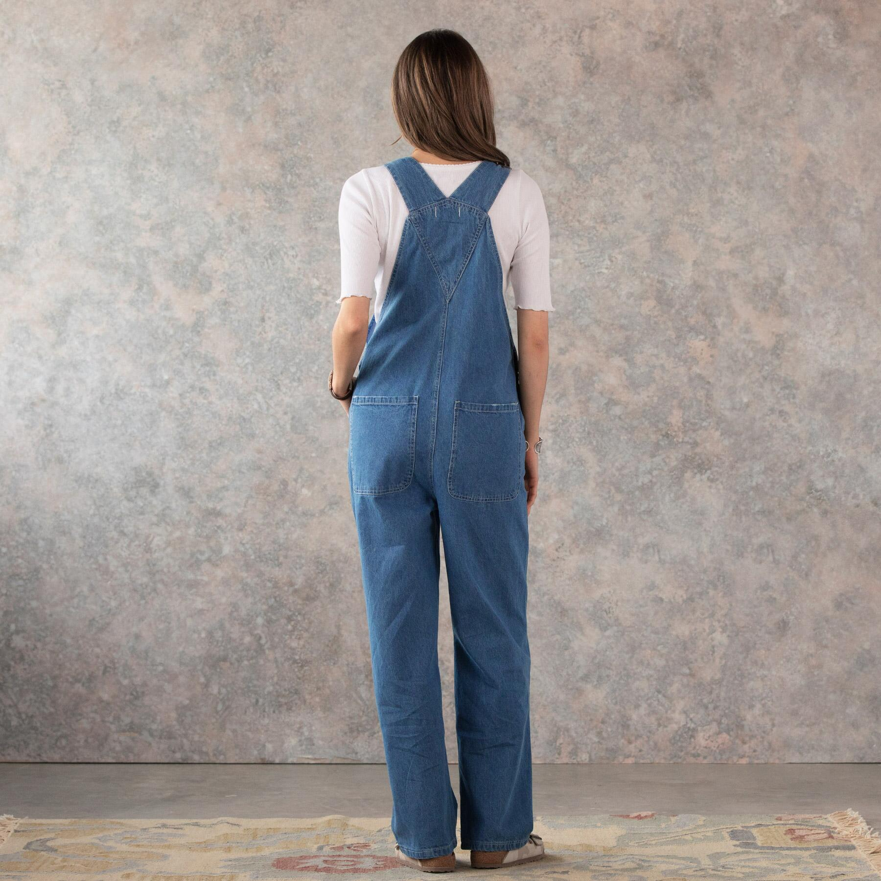 DENIM DARLING OVERALLS: View 2