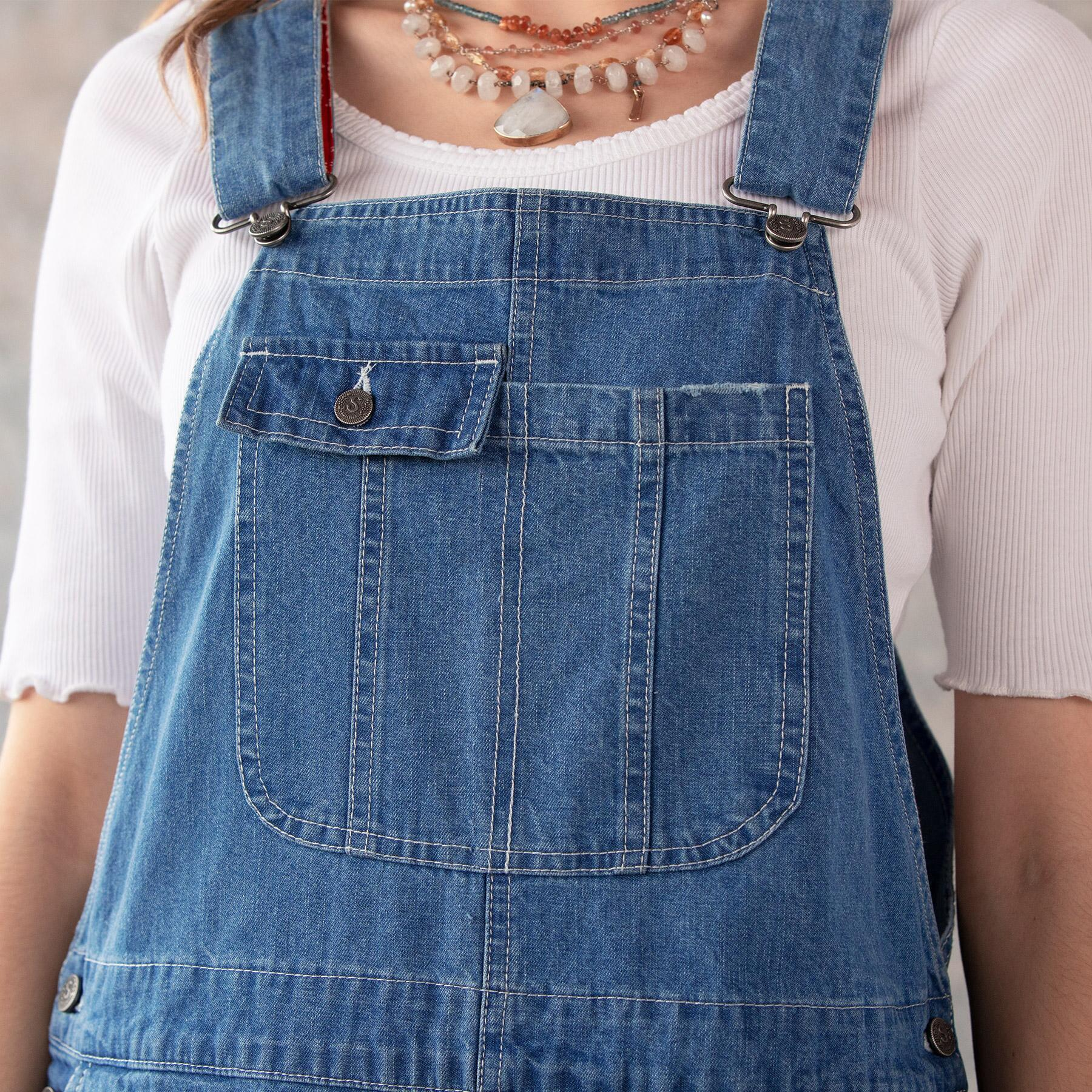 DENIM DARLING OVERALLS: View 3