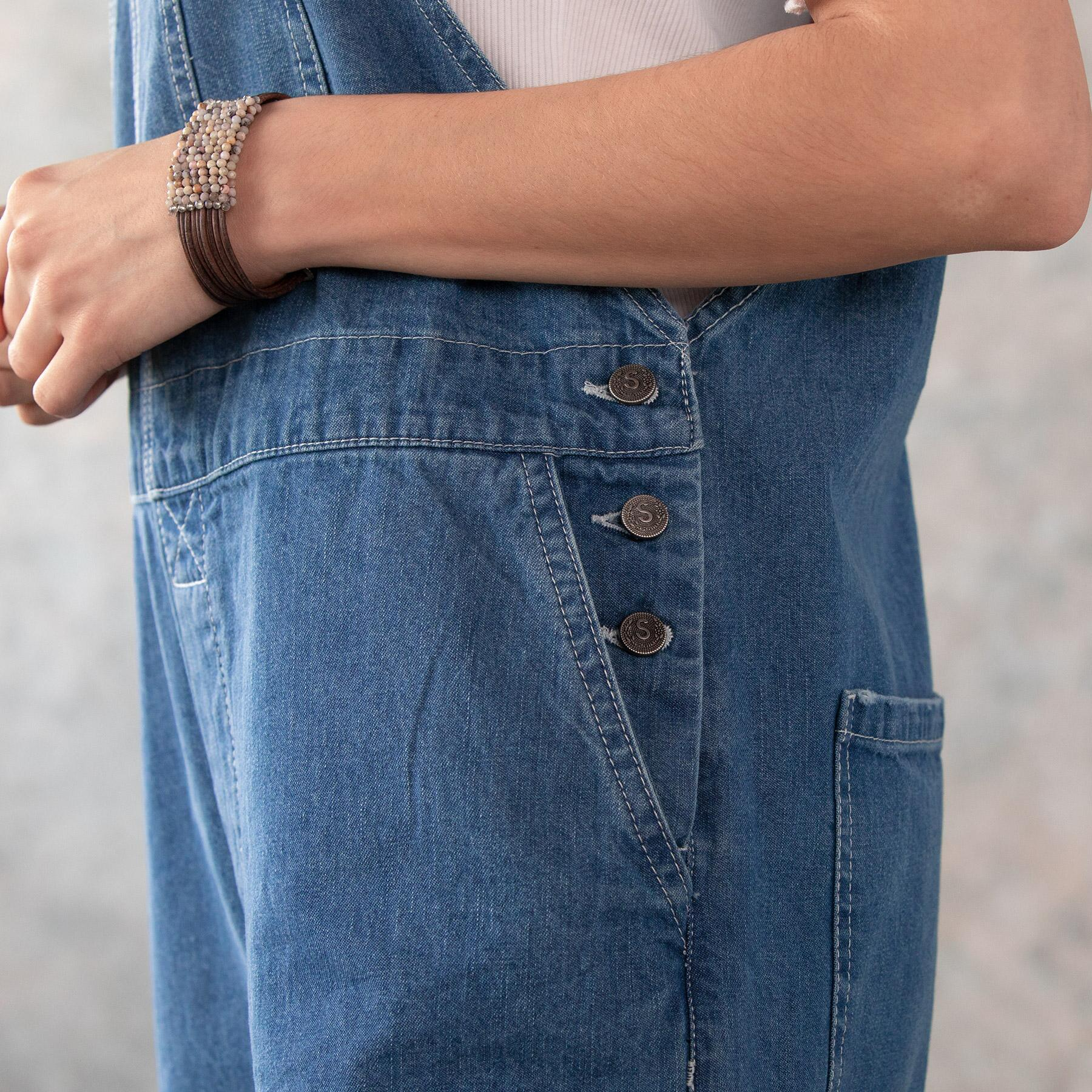 DENIM DARLING OVERALLS: View 4
