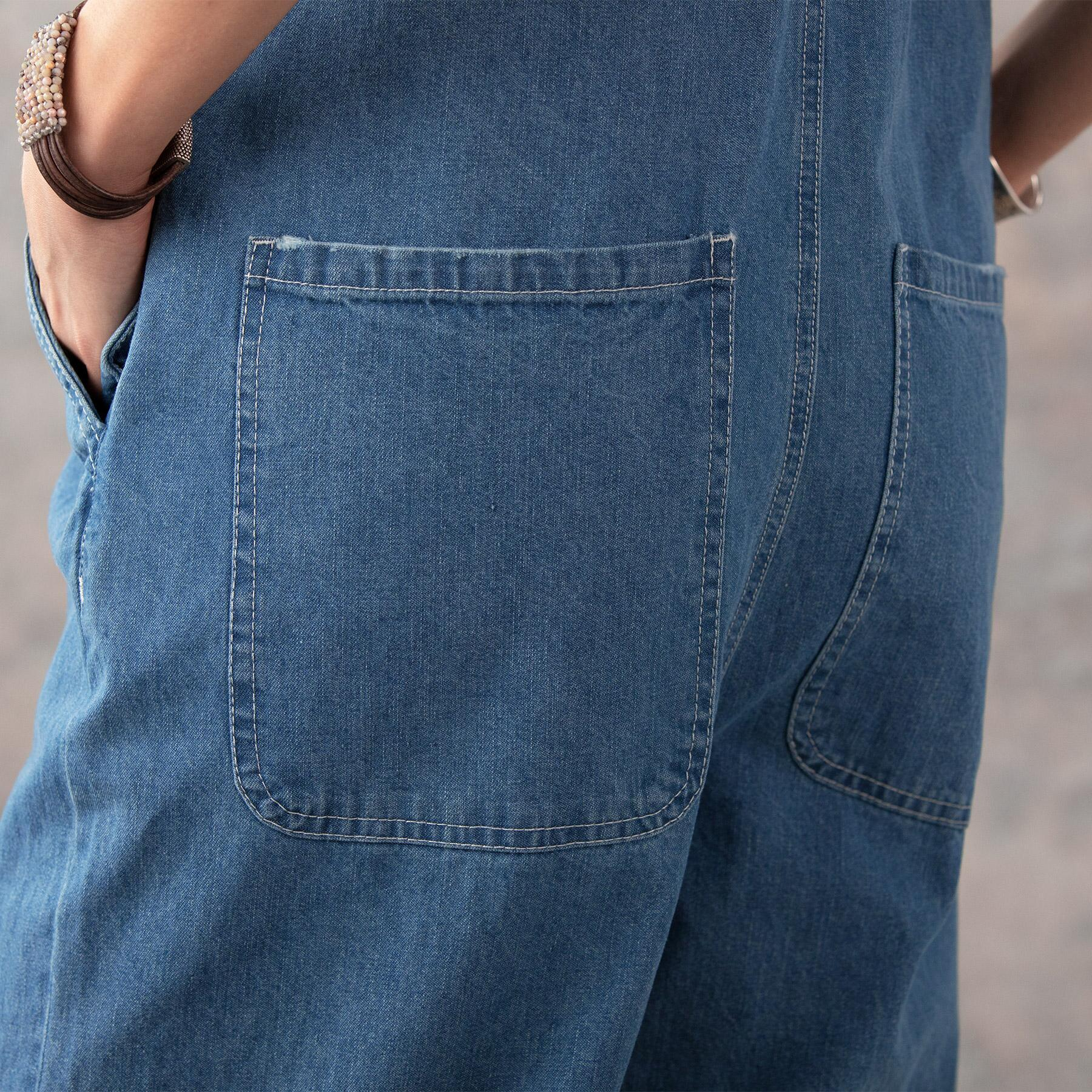 DENIM DARLING OVERALLS: View 5