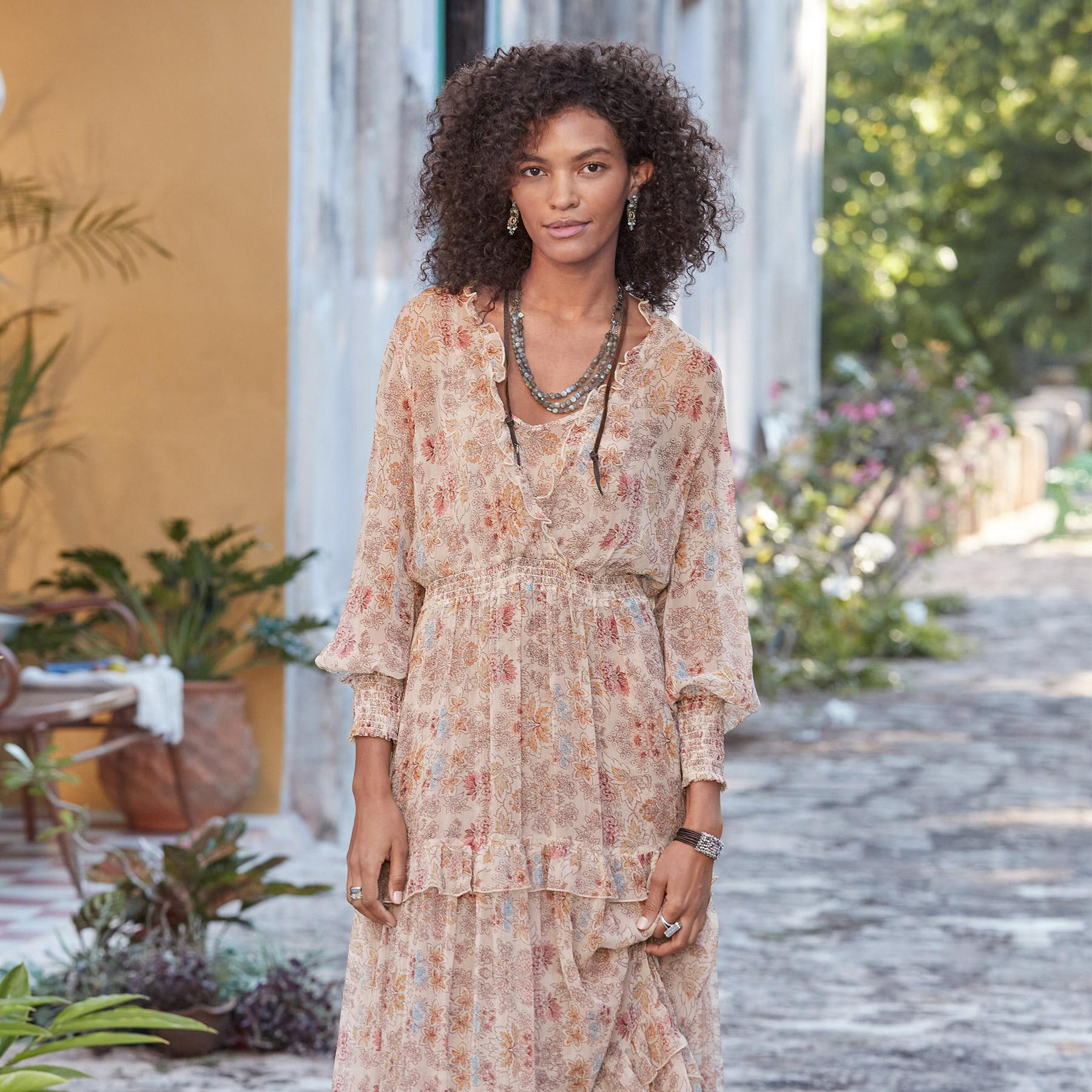 WILD DESERT BLOOM DRESS: View 2