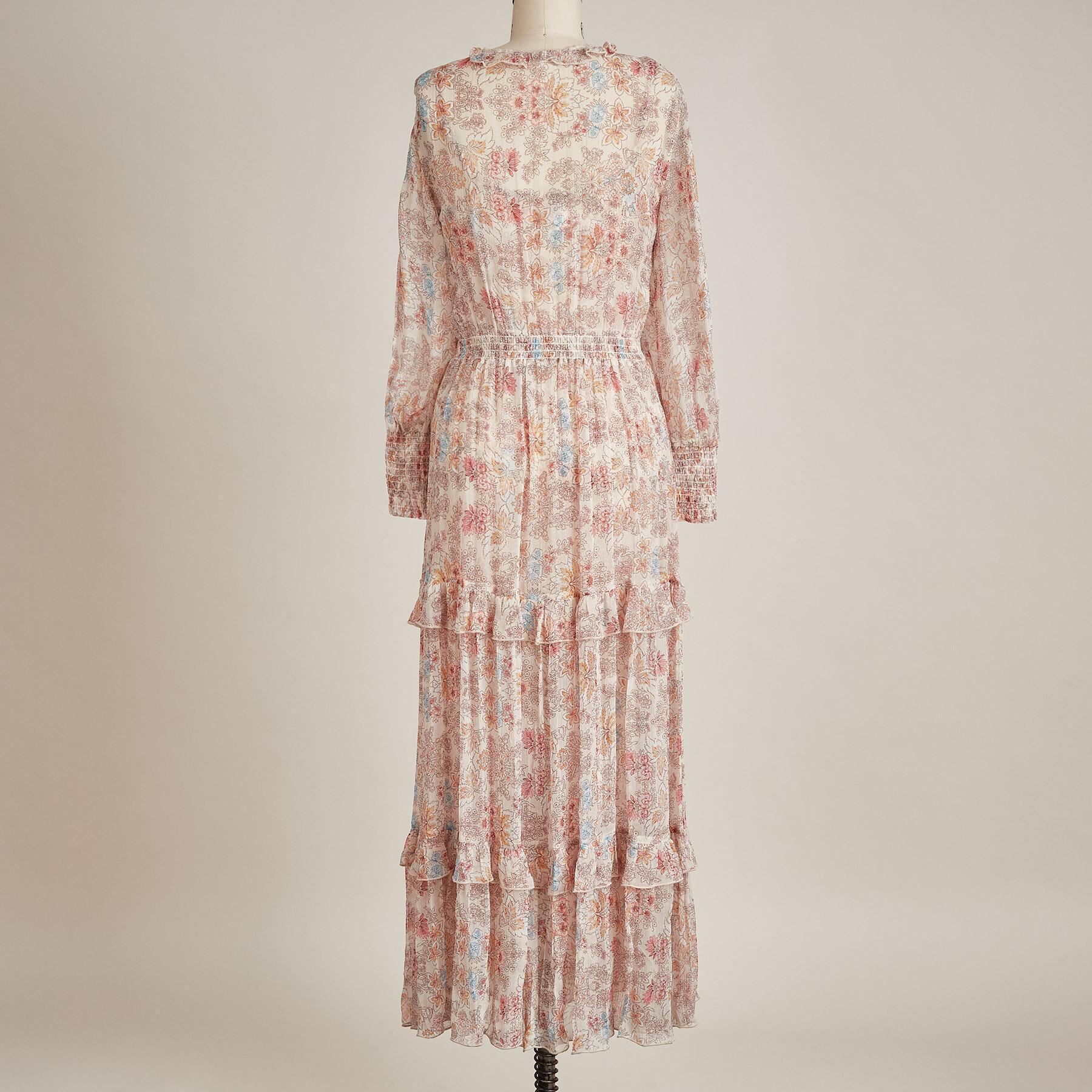 WILD DESERT BLOOM DRESS - PETITES: View 3