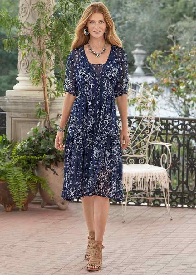 BRIEIA BANDANA DRESS