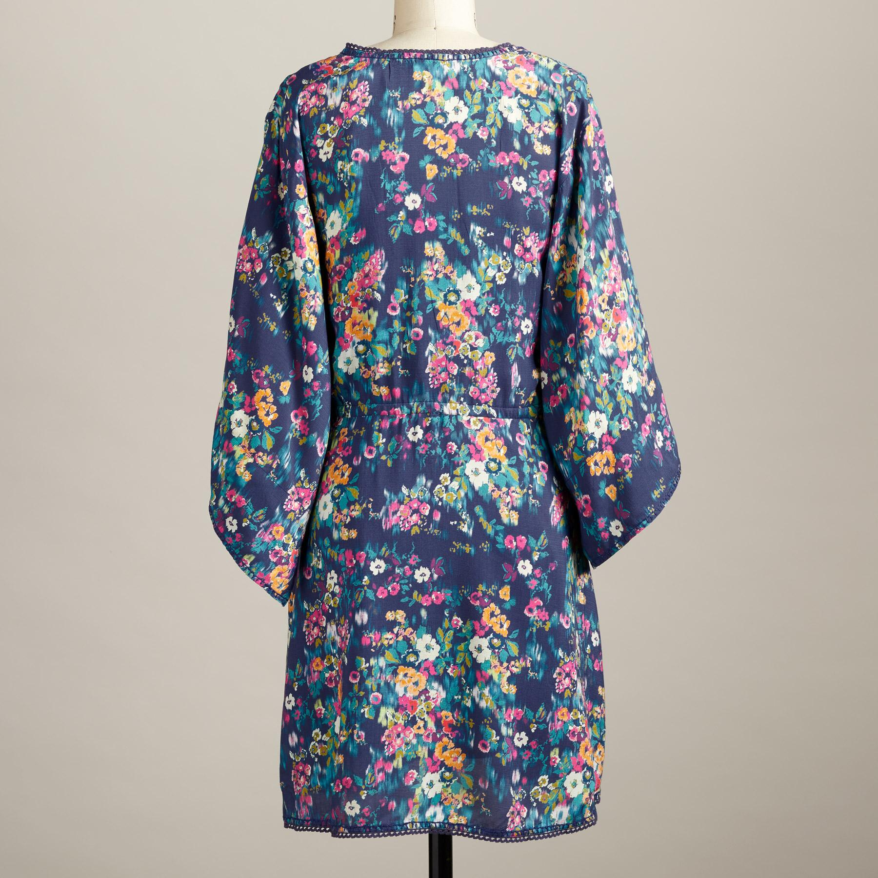 AZUL FLORAL DRESS - PETITES: View 2