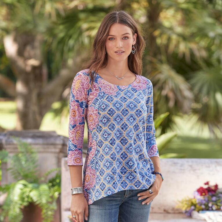 DANISH BLOOMS TOP