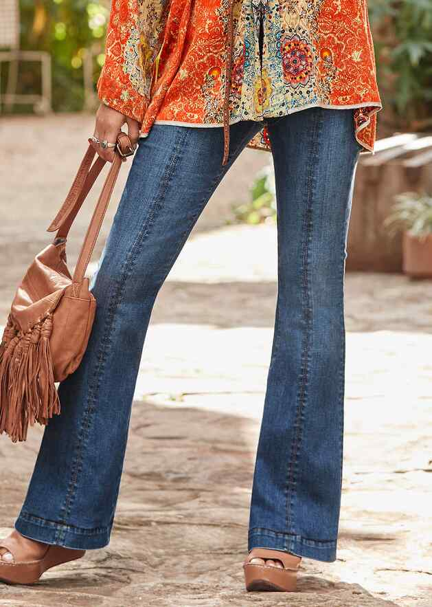 KELLY COIN POCKET BOOTCUT JEANS