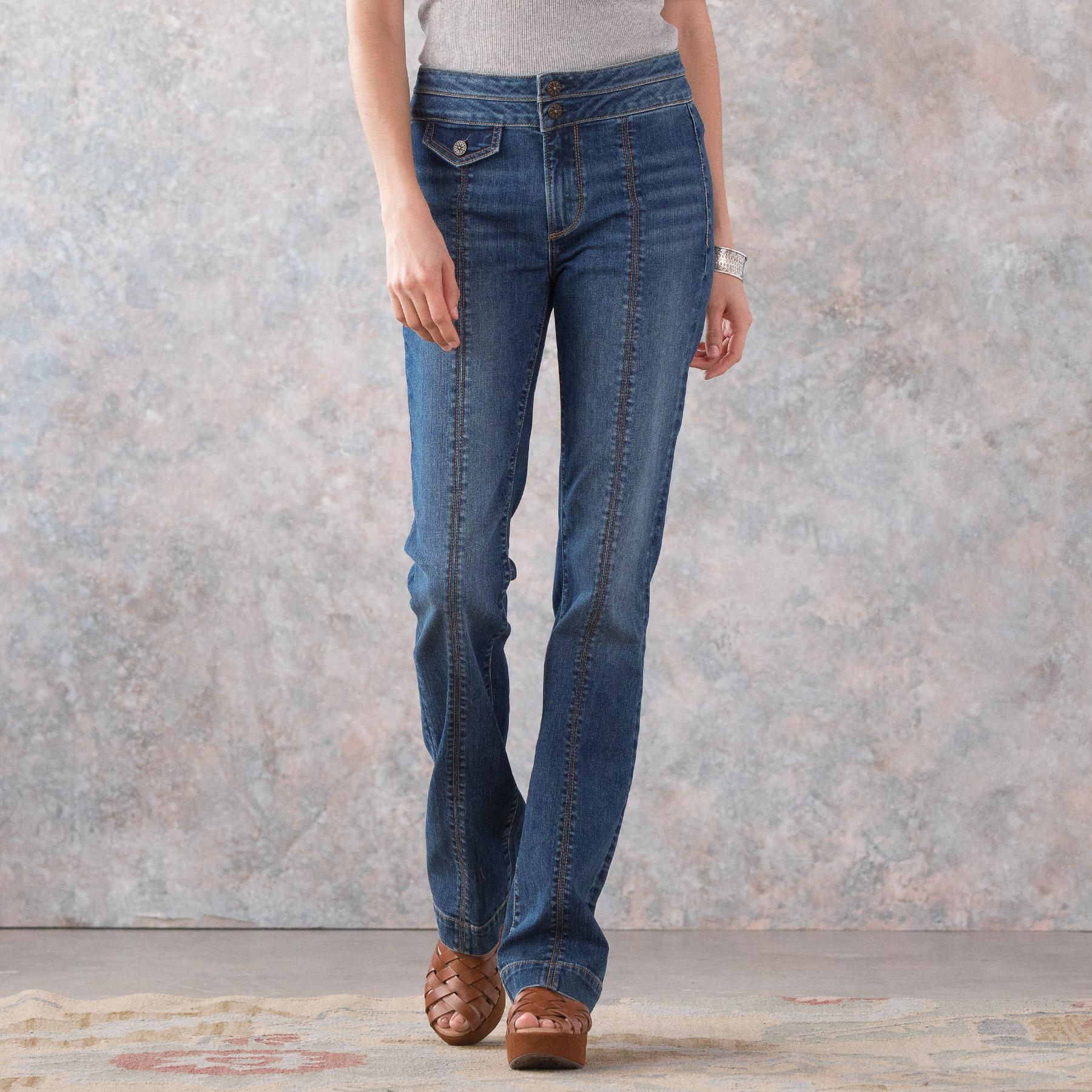 KELLY COIN POCKET BOOTCUT JEANS: View 2