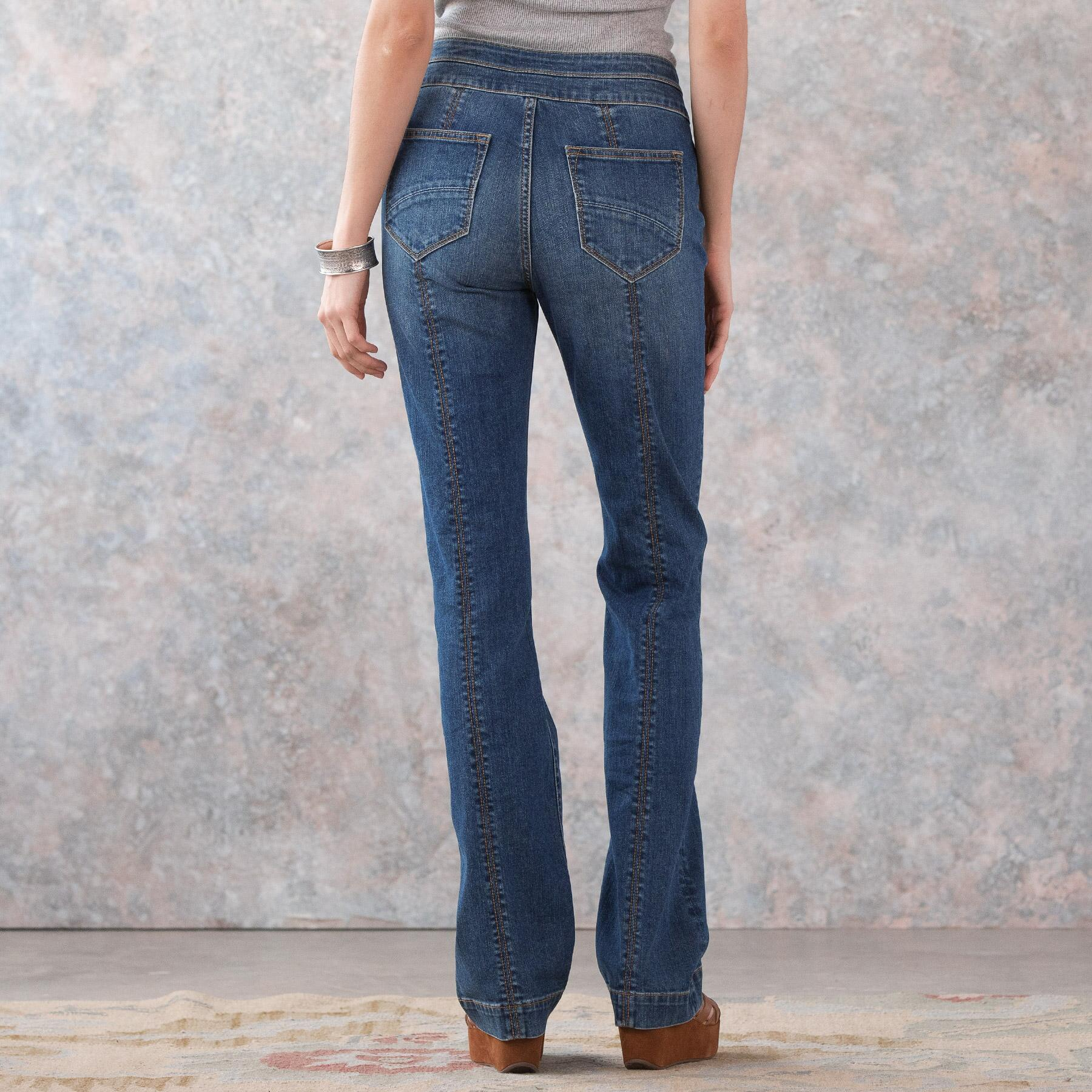 KELLY COIN POCKET BOOTCUT JEANS: View 3