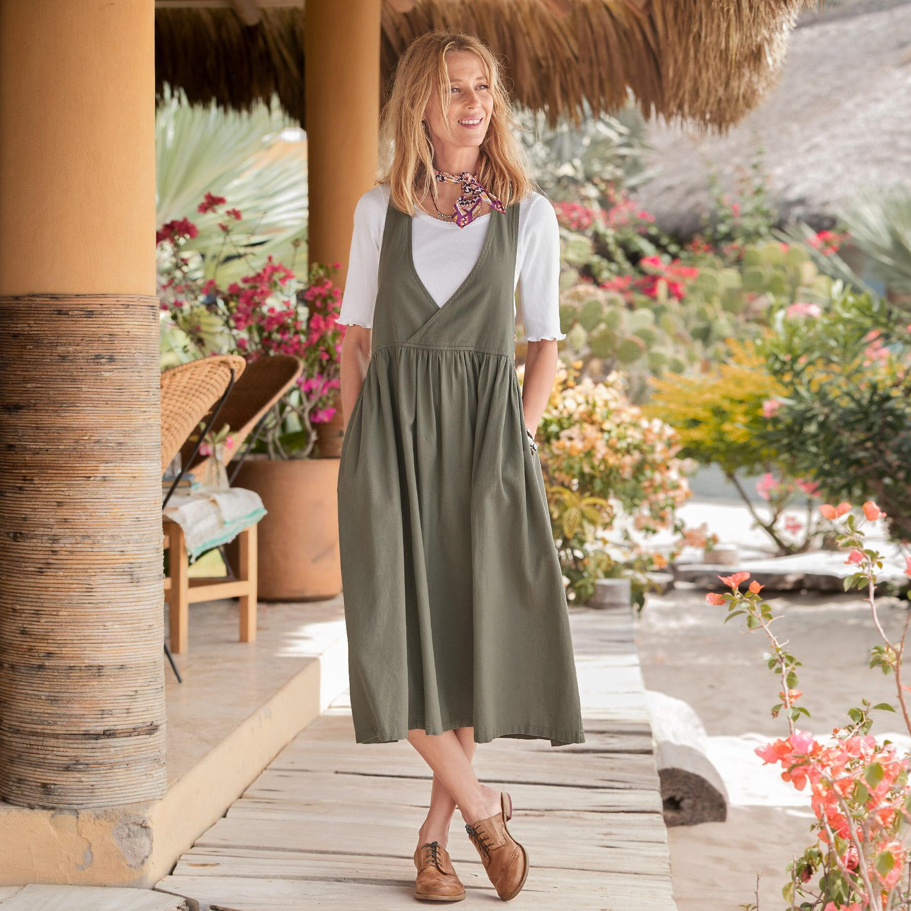 ZHIVAGO PINAFORE DRESS: View 1