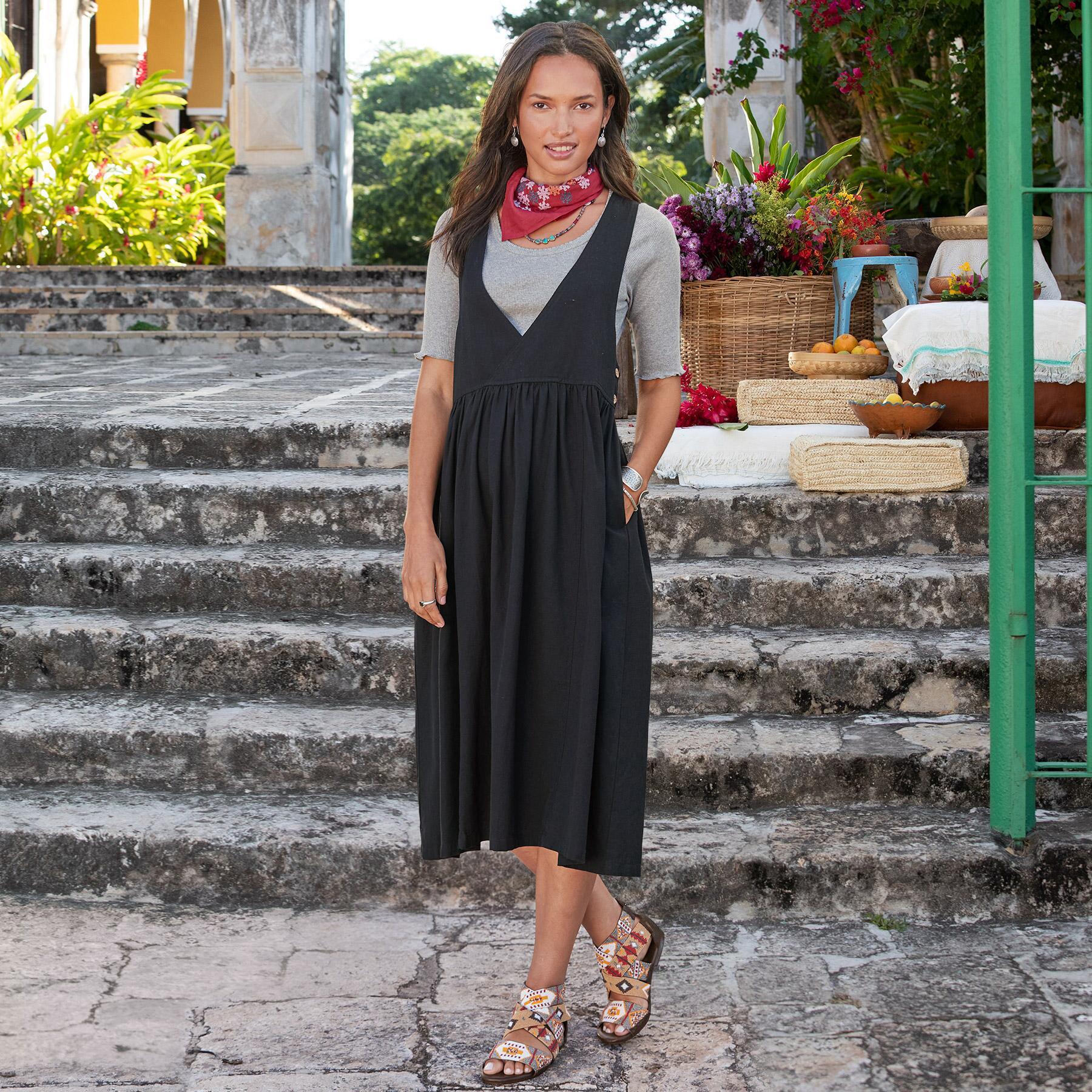 ZHIVAGO PINAFORE DRESS: View 2