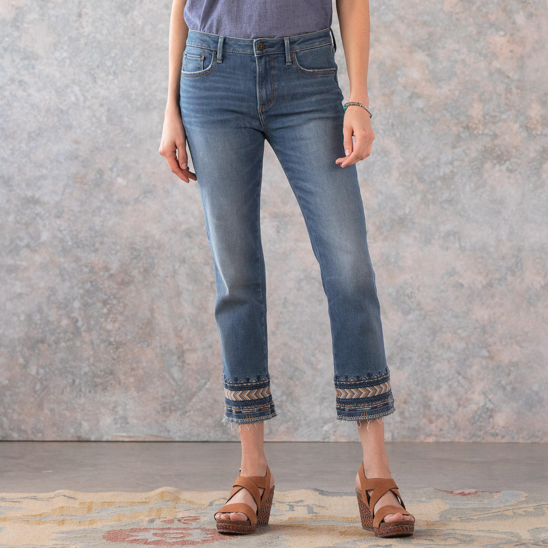 COLETTE ARTISANAL ANKLE JEAN: View 2