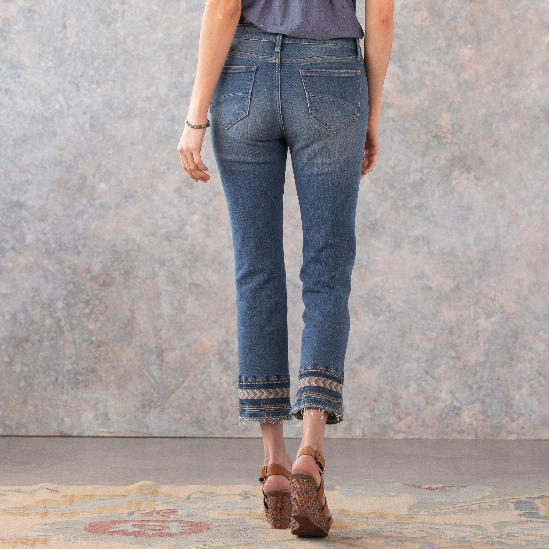 COLETTE ARTISANAL ANKLE JEAN: View 3
