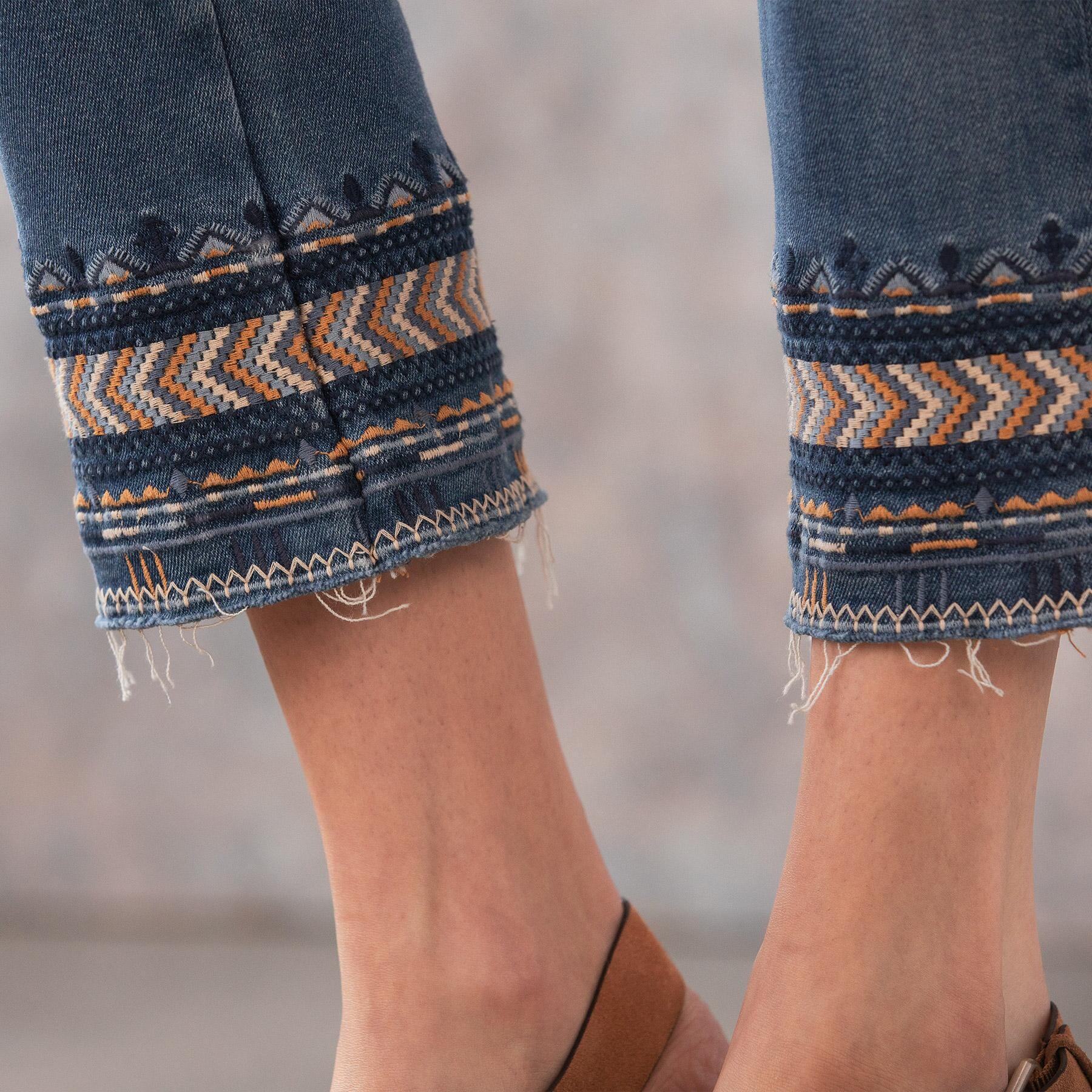 COLETTE ARTISANAL ANKLE JEAN: View 5