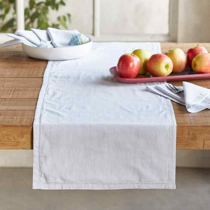 NOBLE STRIPES TABLE RUNNER