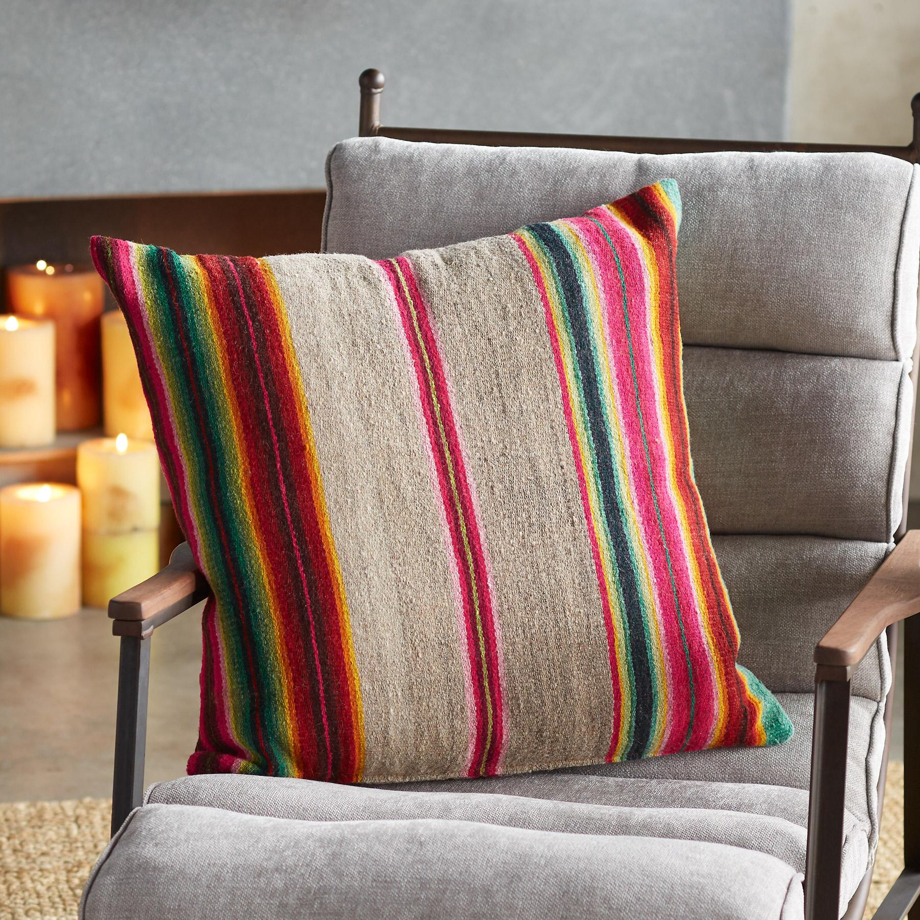 AWAYU ONE-OF-A-KIND BOLIVIAN PILLOWS: View 1