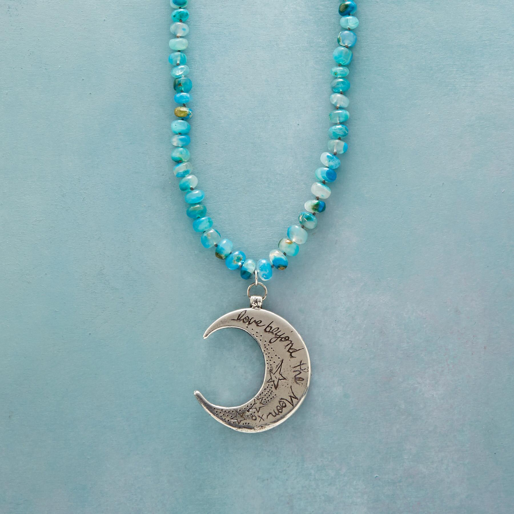TO THE MOON & BACK NECKLACE: View 3