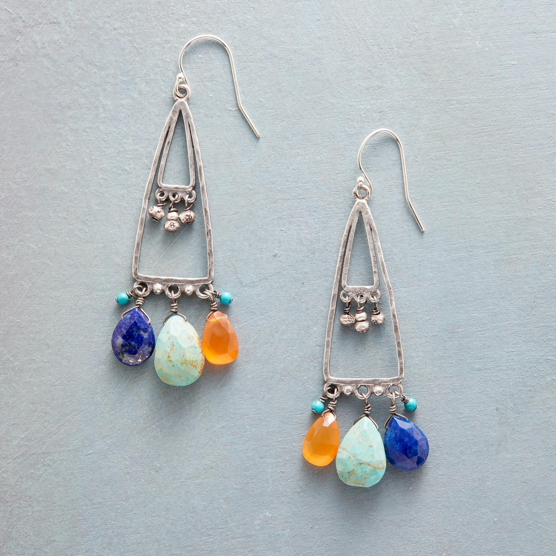 VALLEY OF THE SUN EARRINGS: View 1