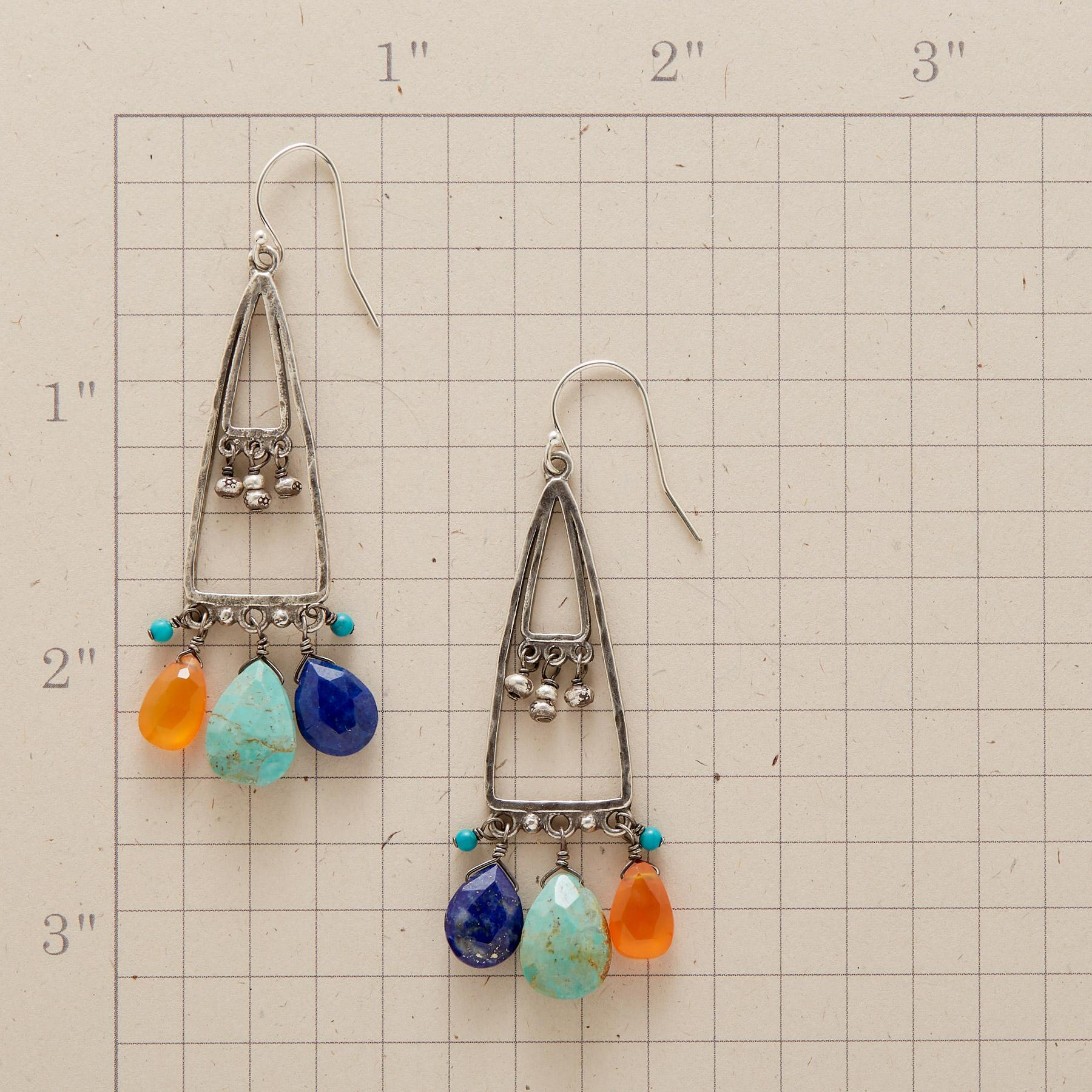 VALLEY OF THE SUN EARRINGS: View 2