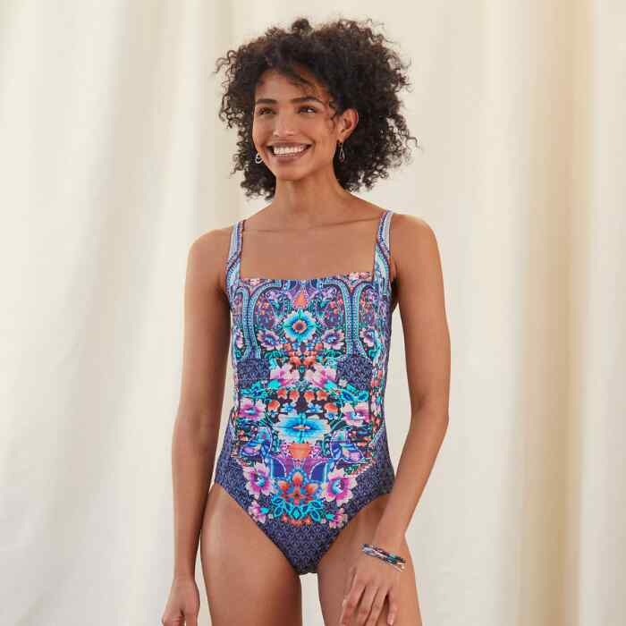 SABA RUCHED SWIMSUIT