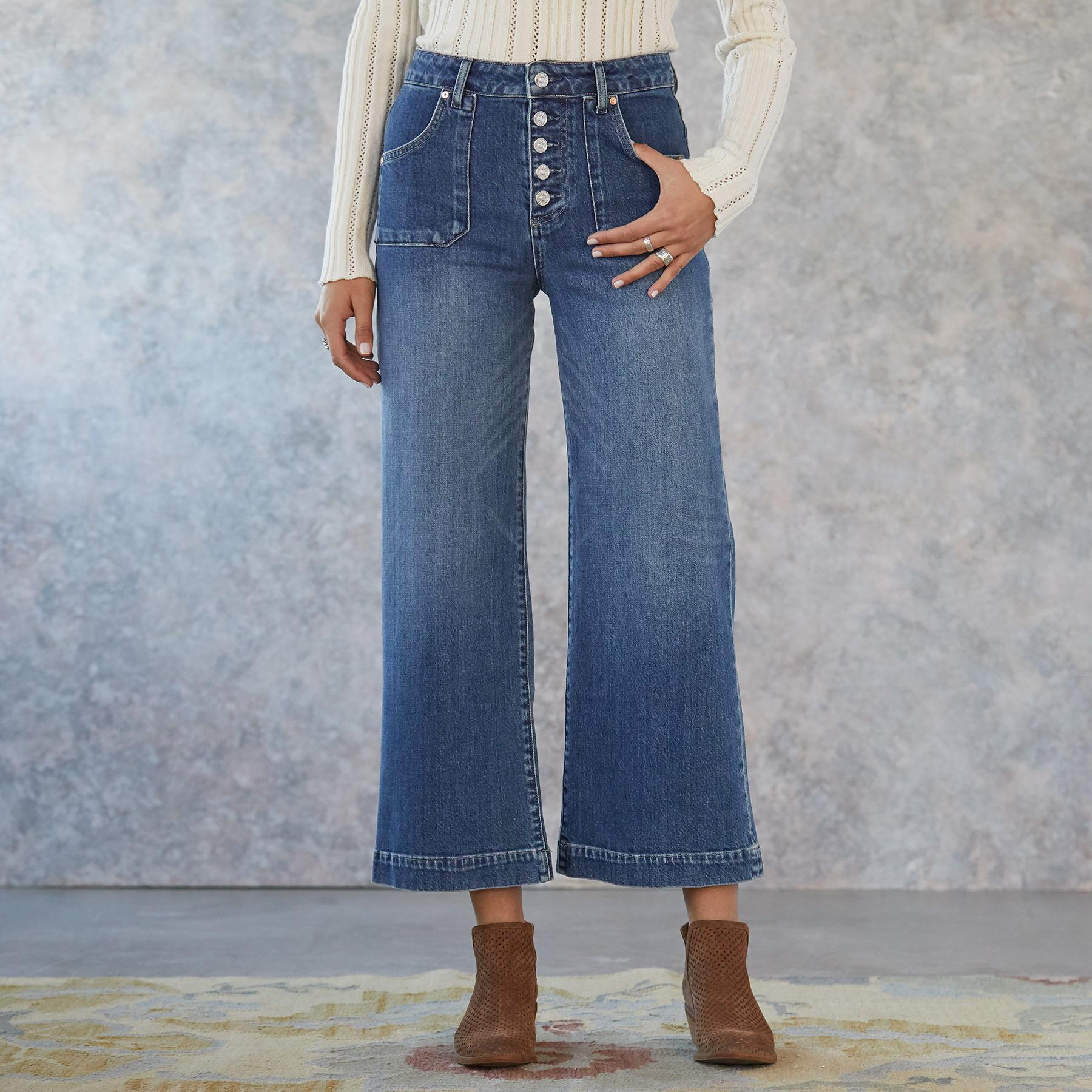 ANESSA CULOTTE JEANS: View 1