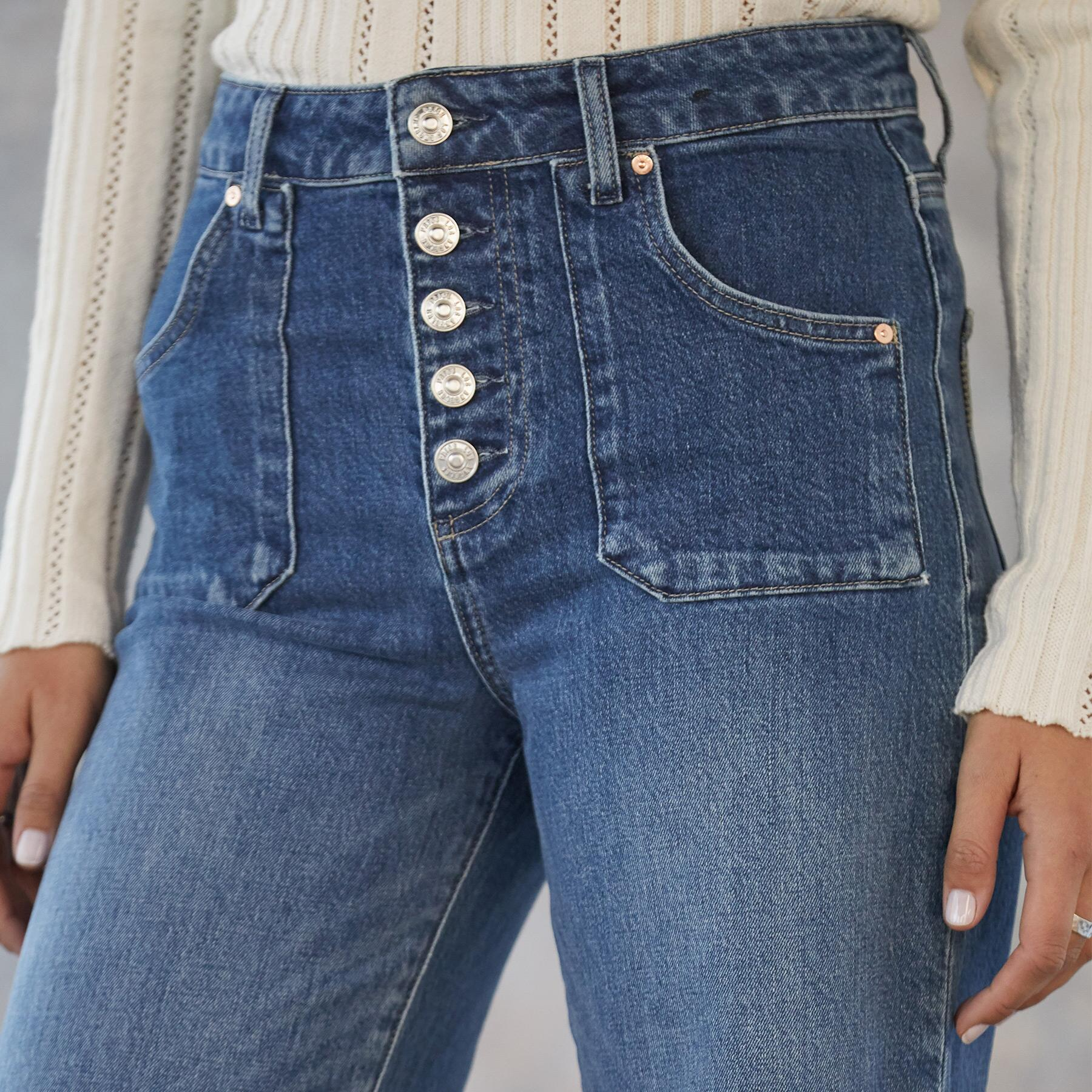 ANESSA CULOTTE JEANS: View 3