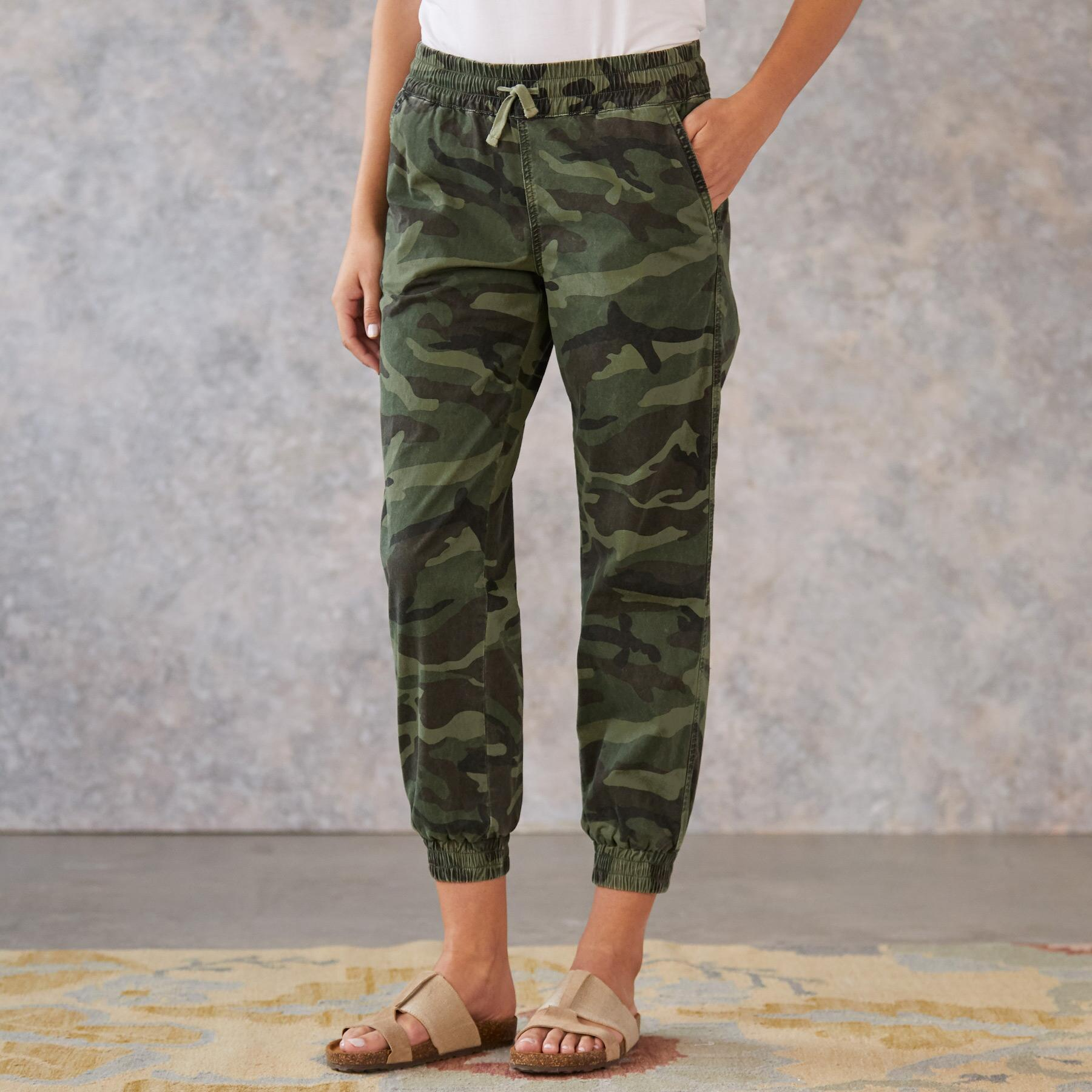 JULIET CAMO JOGGERS: View 1