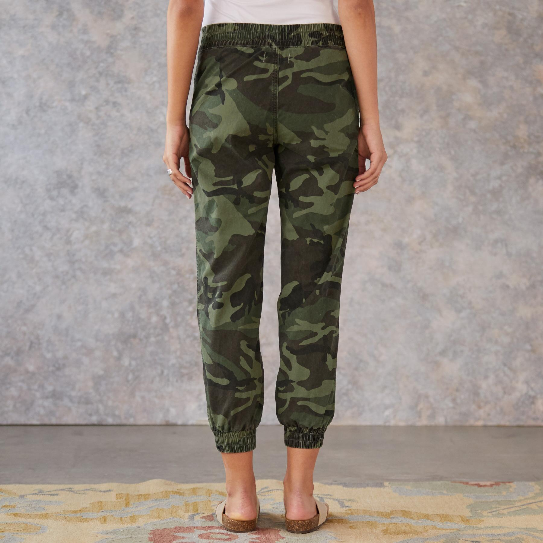 JULIET CAMO JOGGERS: View 2