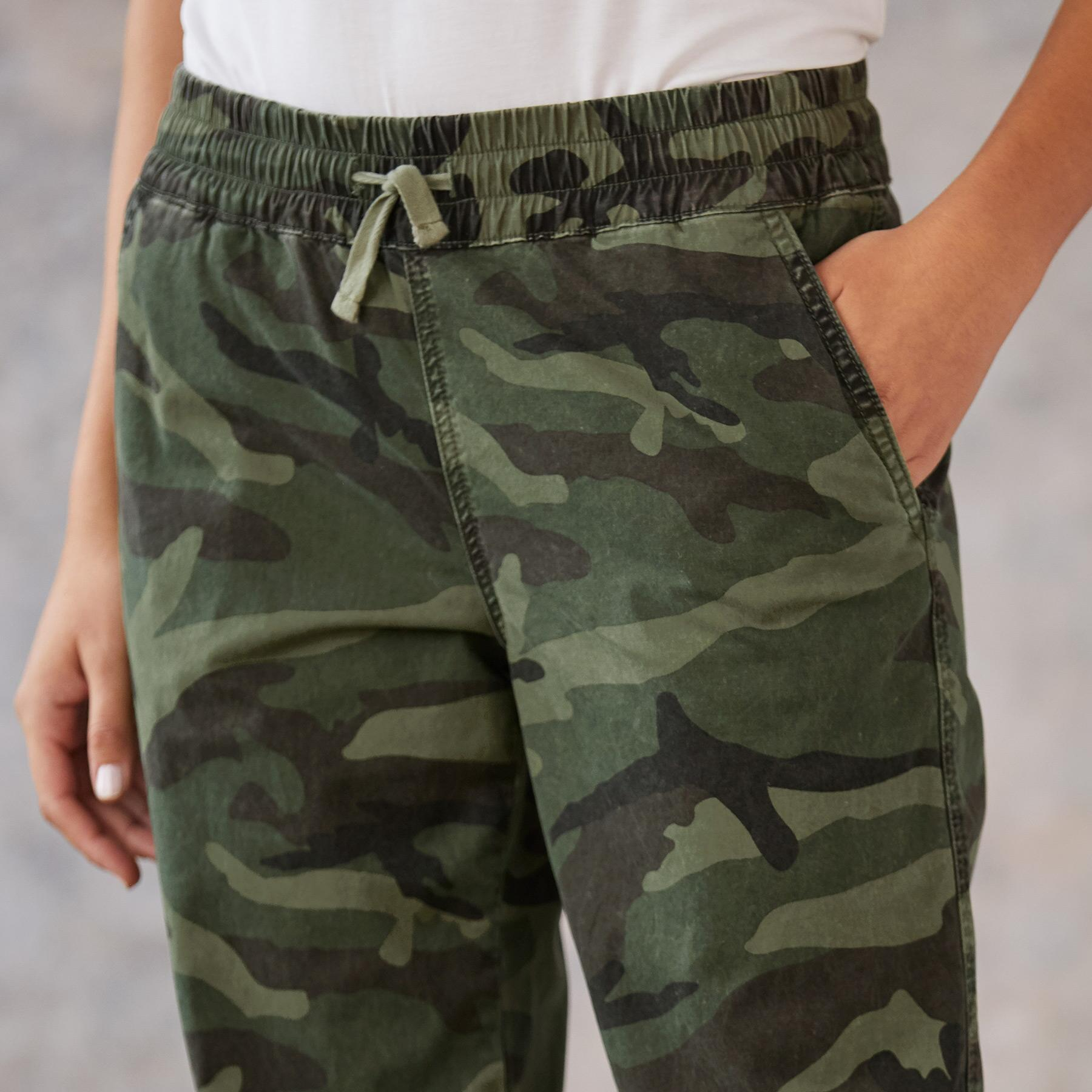 JULIET CAMO JOGGERS: View 3