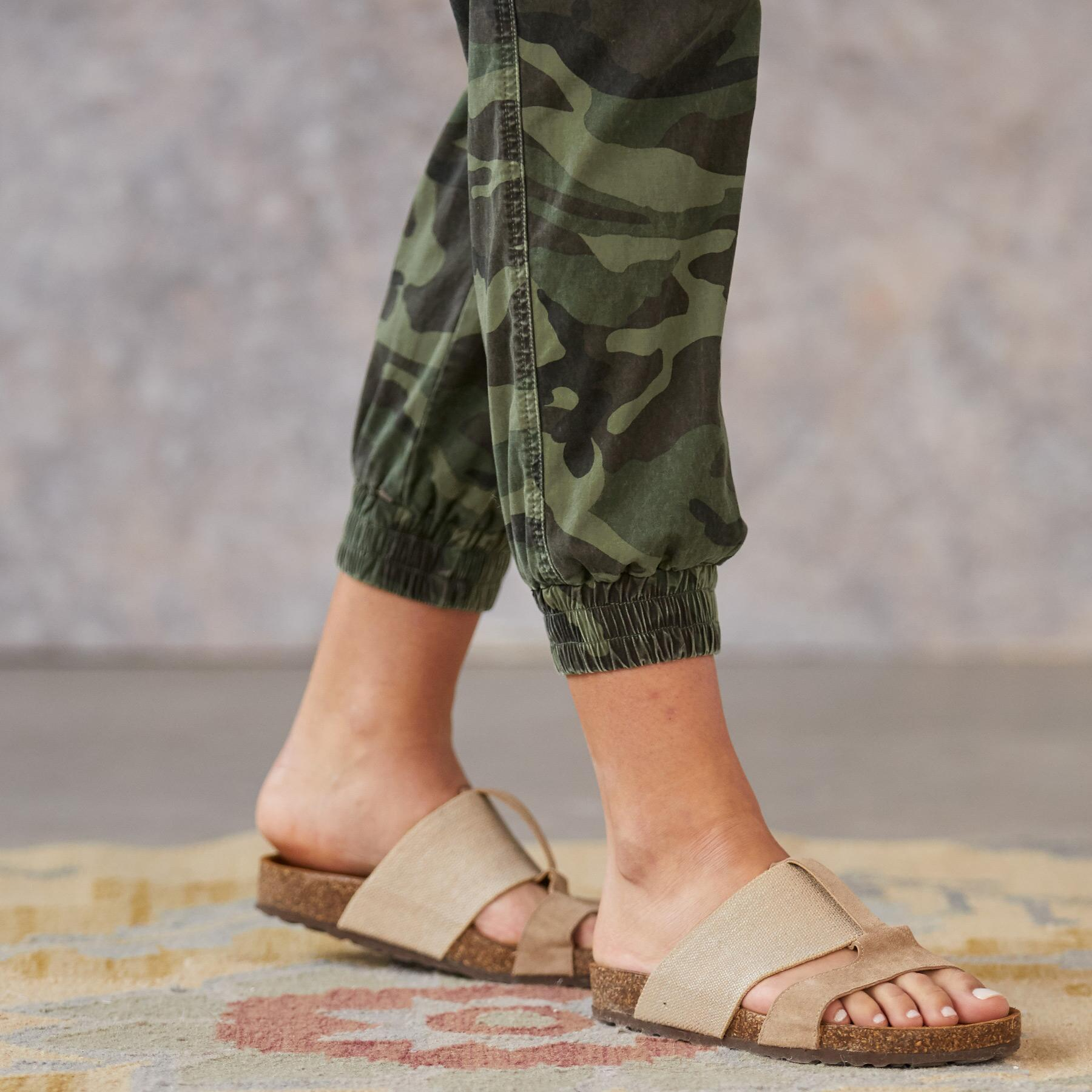 JULIET CAMO JOGGERS: View 4