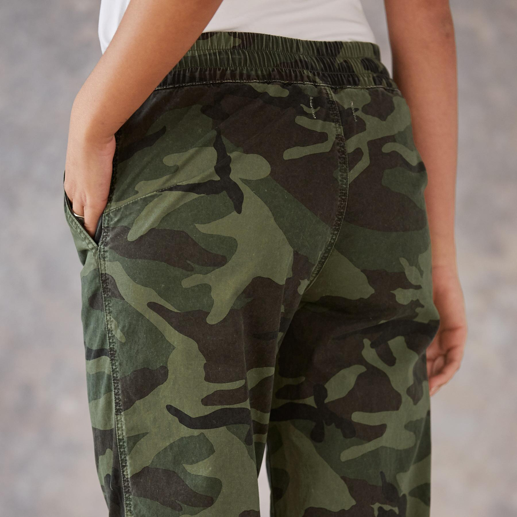 JULIET CAMO JOGGERS: View 5