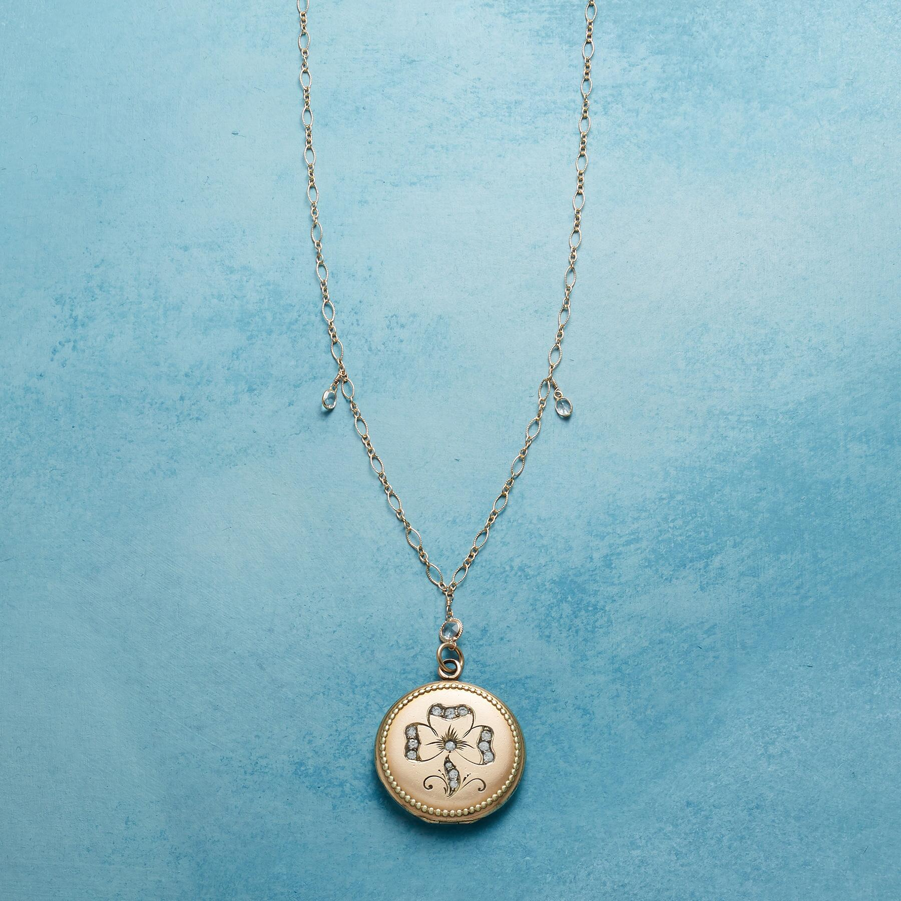 MAEVE HEIRLOOM LOCKET NECKLACE: View 1