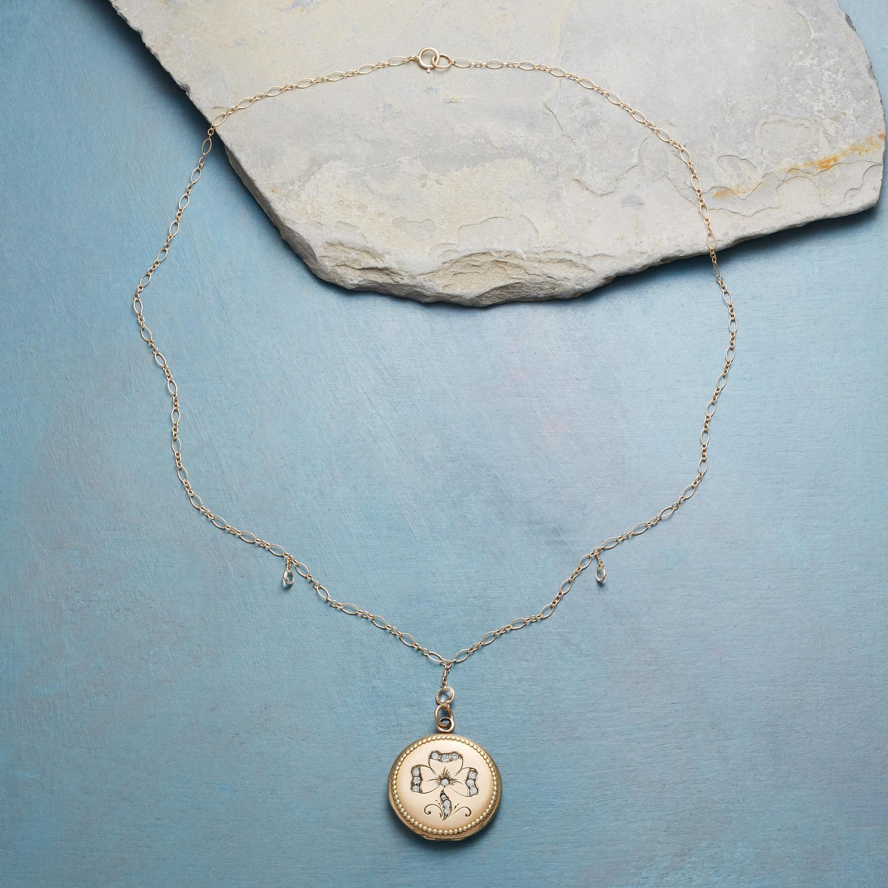 MAEVE HEIRLOOM LOCKET NECKLACE: View 2